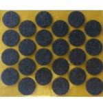 24. Strong Heavy Duty Self Adhesive Felt Furniture Pads (25mm)